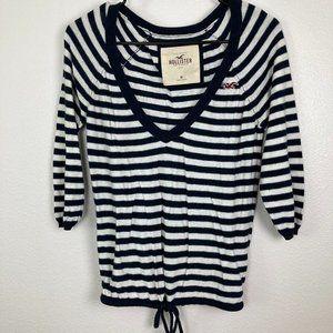 3/$20 Hollister Striped Knit Top Size M